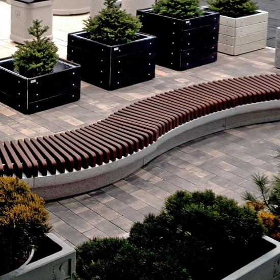 Паркет тротуарна плитка (h = 60 мм)