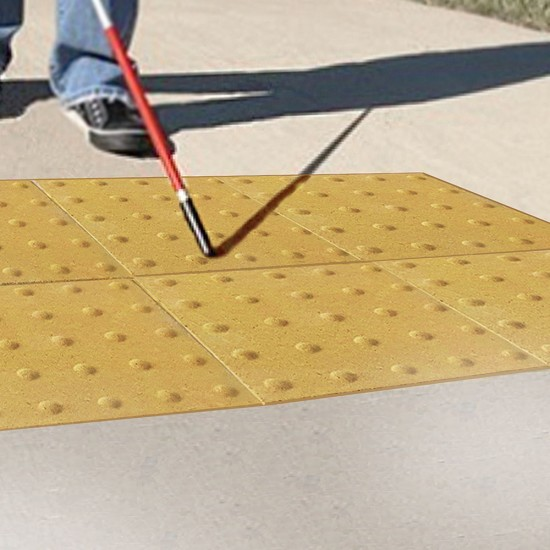 Шаблон уваги тактильна плитка (h = 60 мм)