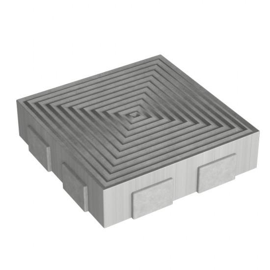 Ліра плита 250х250 (h = 60 мм)