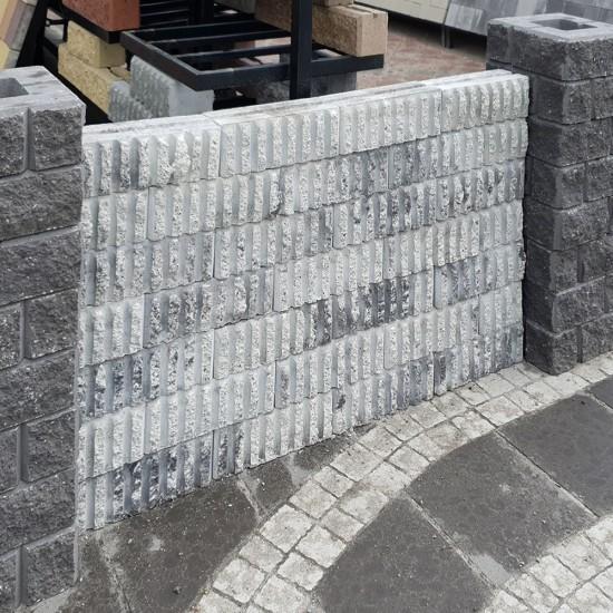 Блок с каннелюрами (300х120х100)