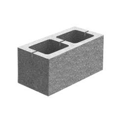 Блок декоративний гладкий (400х200х200)