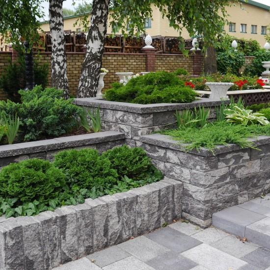 Decorative stone for flowerbed 175х350