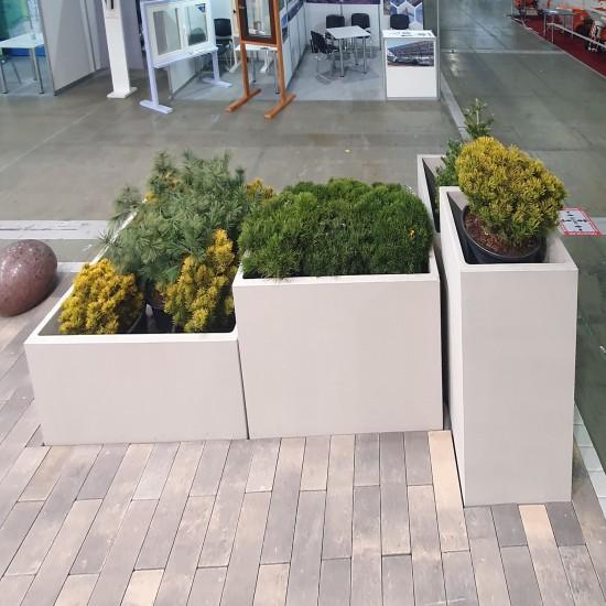 Flower planter Solo 600x600 (h=1220 mm)