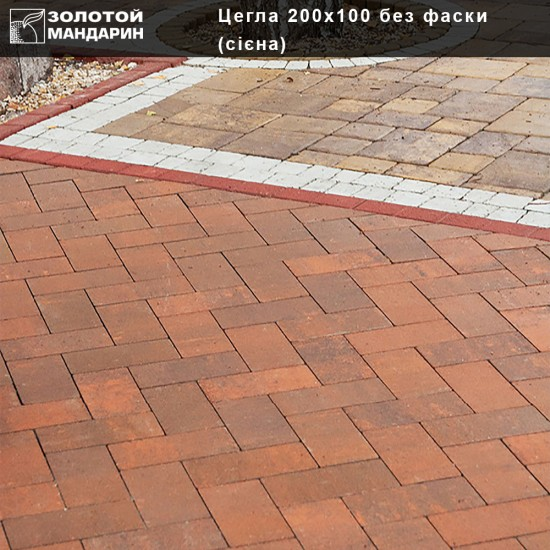 Brick 200x10 without cant  (h=80 mm)