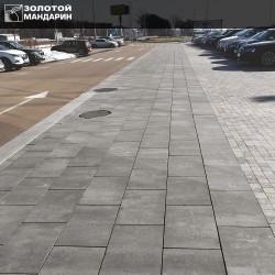 Моноліт тротуарна плитка  (h = 80 мм)