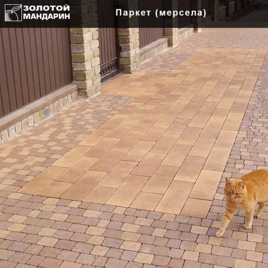 Тротуарна плитка Паркет