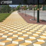 Ромб тротуарна плитка (h = 60 мм)