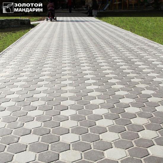 Сота тротуарна плитка  (h = 60 мм)