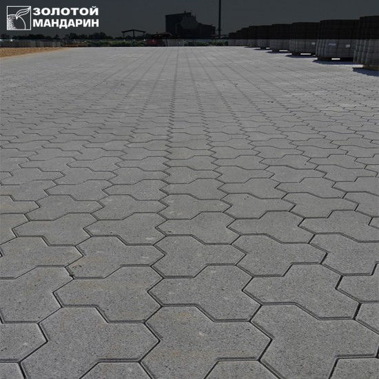 Тротуарна плитка Тригран