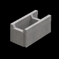 Блок незнімної опалубки (510х250х235)