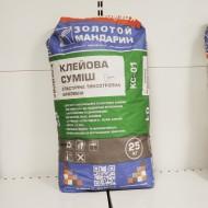 Клейова суміш еластична тиксотропна  армована КС-01