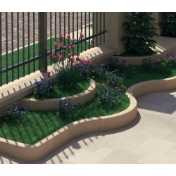 Curbs travertine
