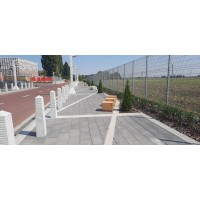 Благоустройство пешеходной зоны в г. Обухов