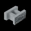 Блок декоративний незнімної опалубки (500х400х235) (блоки)