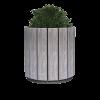 Квітник Кантрі круглий