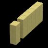 Поребрик, стовпчик фігурний (квадратний)