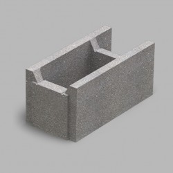 Блок несъемной опалубки (510х250х235)