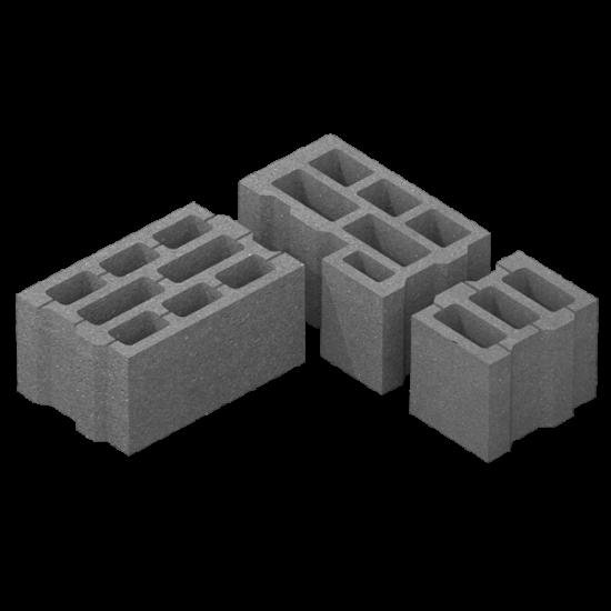 Блок стіновий (400х250х200)
