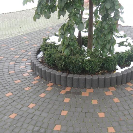 Curb figured  round 500x80