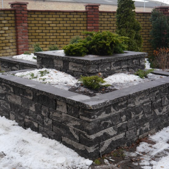Decorative stone for flowerbed 175х100