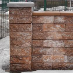 Блок декоративний (400х200х150)