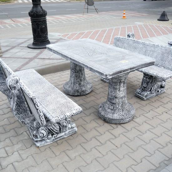 Mesa Spain Table, Mesa Spain Benches
