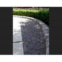 """Тротуарна плитка """"Маргарита"""" в чорному кольорі"""