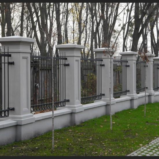 Колона паркану, колона паркану кутова
