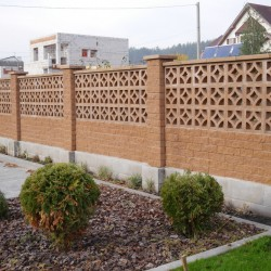 "Block fence ""Harmony"""