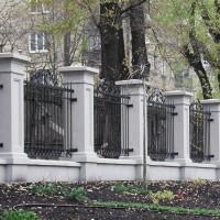 Колони паркану